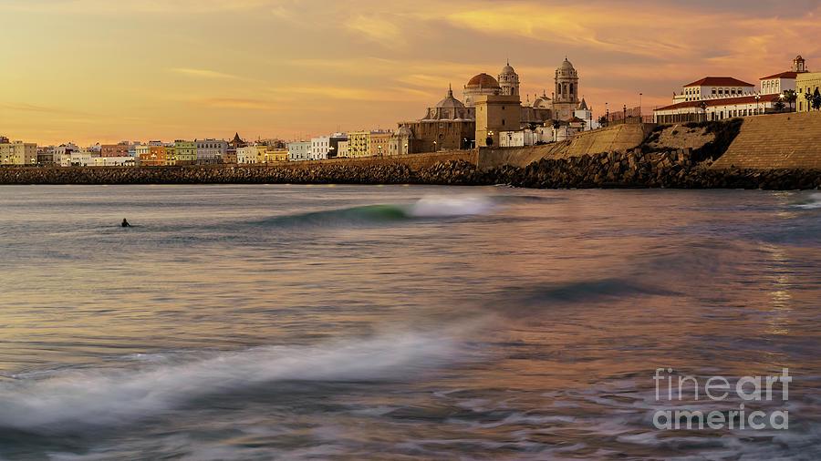 Santa Maria Del Mar Beach Cadiz Spain Photograph