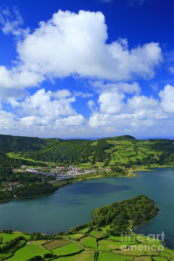 Crater Photograph - Sete Cidades - Azores by Gaspar Avila