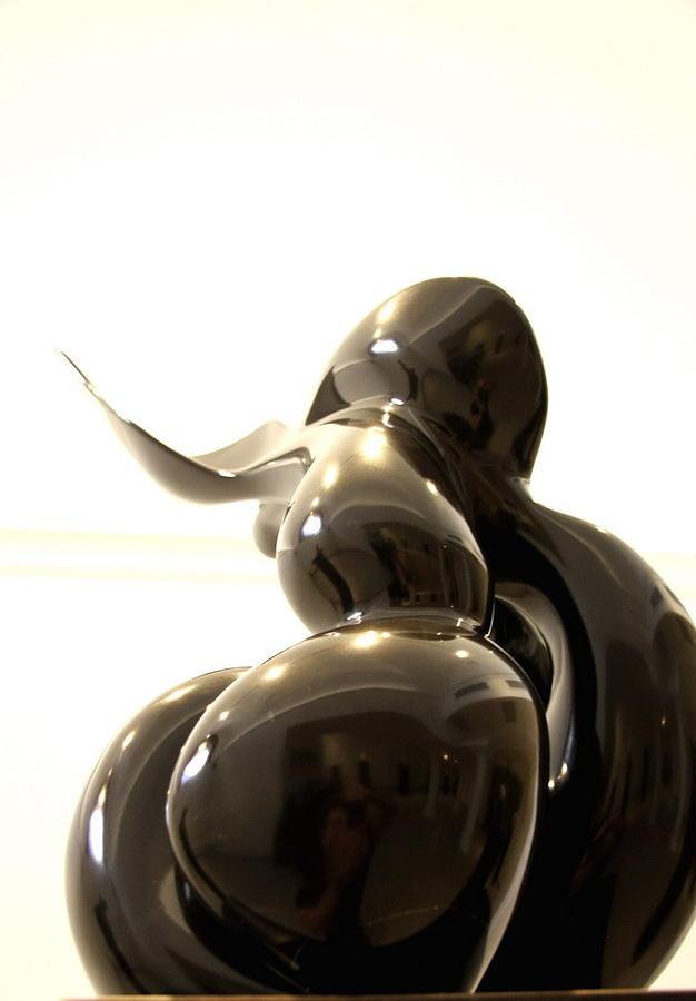 The Woman Metaphysics Sculpture