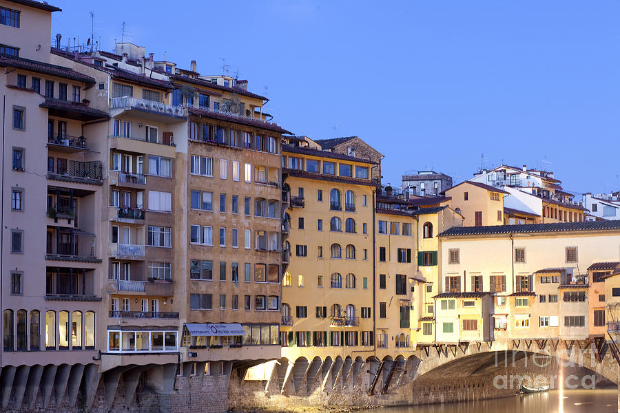 Vecchio Bridge Photograph