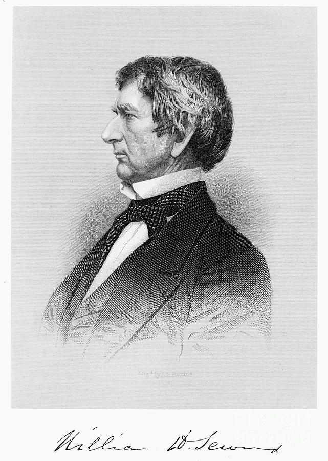19th Century Photograph - William Seward (1801-1872) by Granger