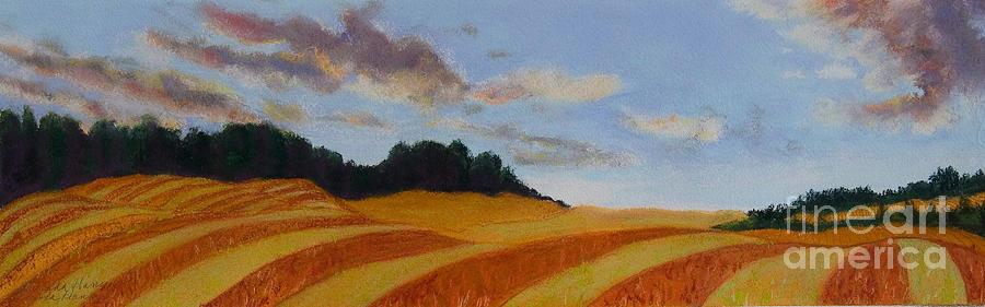 Landscape Painting - Wonderland Farm by Lucinda  Hansen