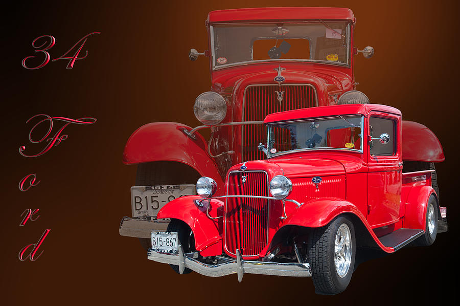 34 Ford Pick Up Photograph