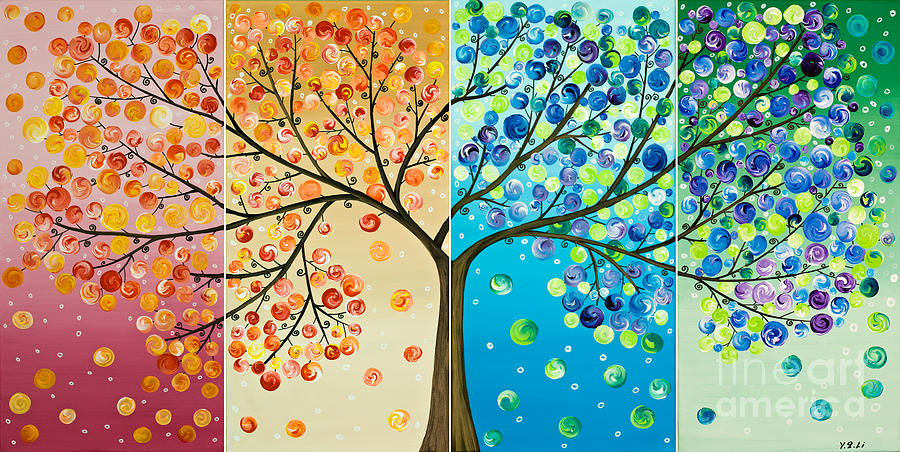 Art Of Happiness Paintings