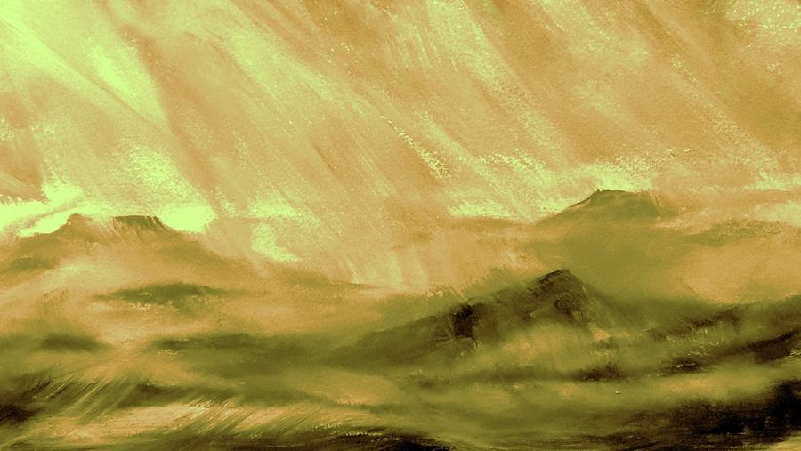 Earth Light Series Painting - Earth Light Series by Len Sodenkamp