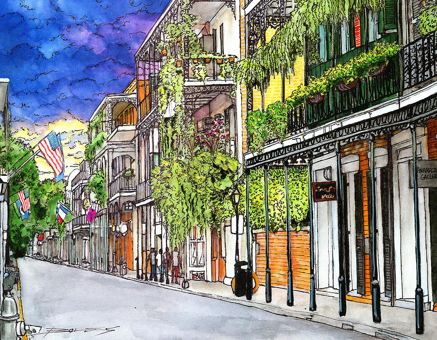 New Orleans Painting - 39 by John Boles