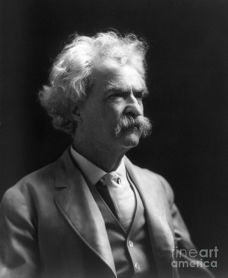 1907 Photograph - Samuel Langhorne Clemens by Granger