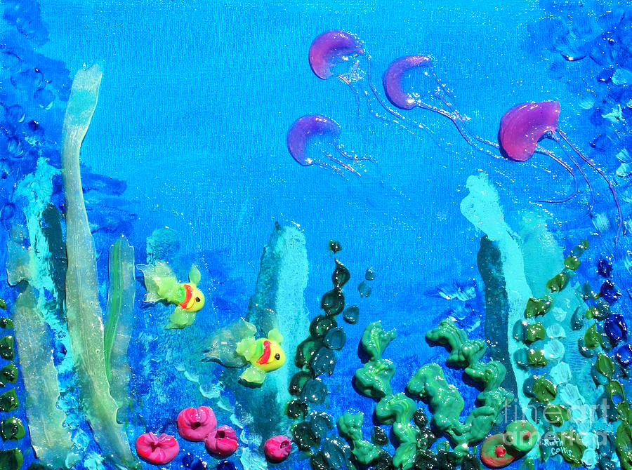 3d Under The Sea is a painting by Ruth Collis which was uploaded on ...