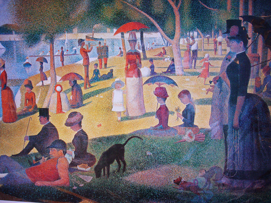 A Sunday On La Grande Jatte Painting