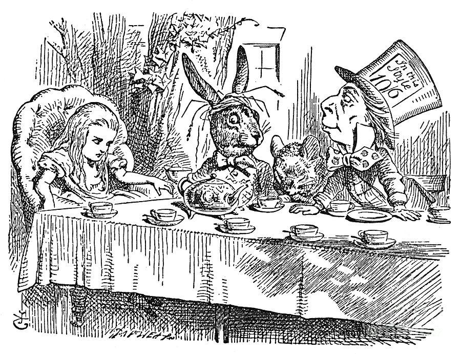 1865 Photograph - Carroll: Alice, 1865 by Granger