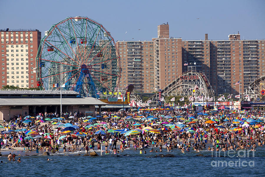 Coney Island New York City Photograph By Anthony Totah
