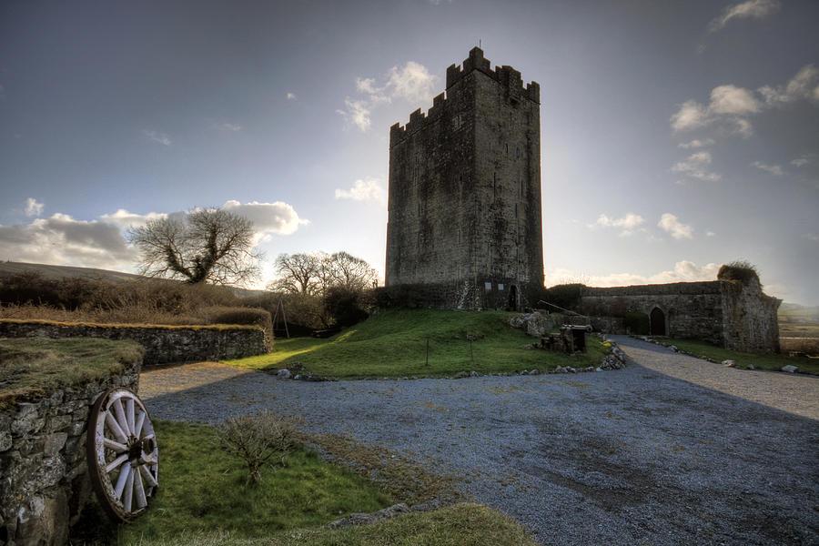 Dysert Photograph - Dysert O Dea Castle by John Quinn