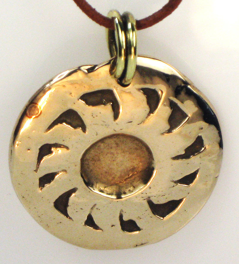 Jewelry Jewelry - Esprit Del Sol - Southwest Sun Spirit Necklace by Virginia Vivier