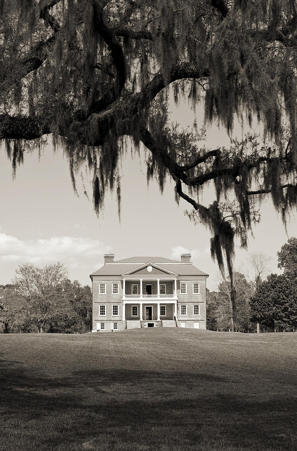 Historic Drayton Hall In Charleston South Carolina Photograph