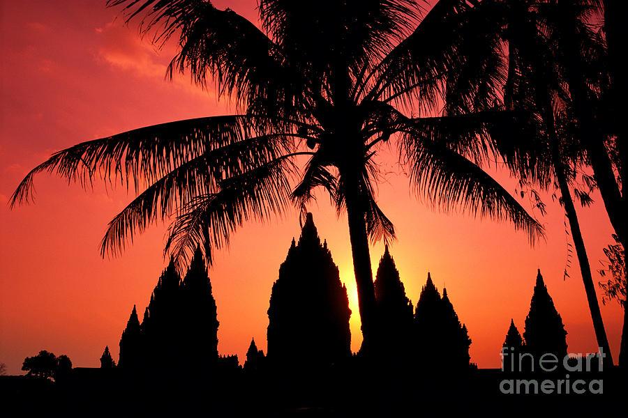 Ancient Photograph - Java, Prambanan by Gloria & Richard Maschmeyer - Printscapes
