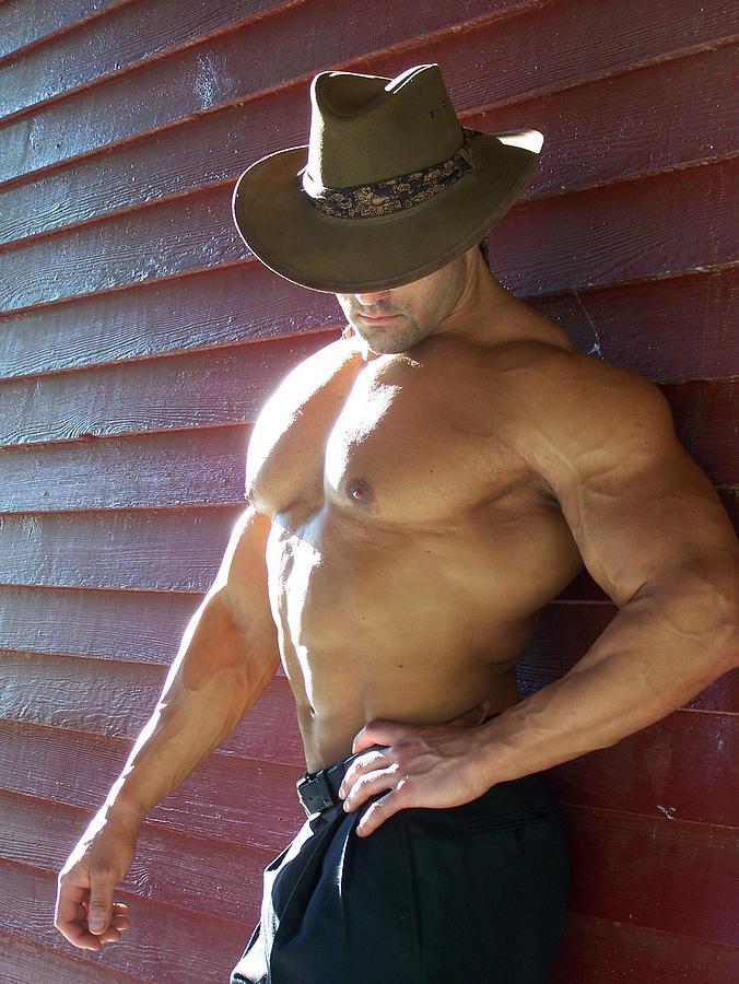 Marius Photograph - Muscle Art America Marius by Jake Hartz