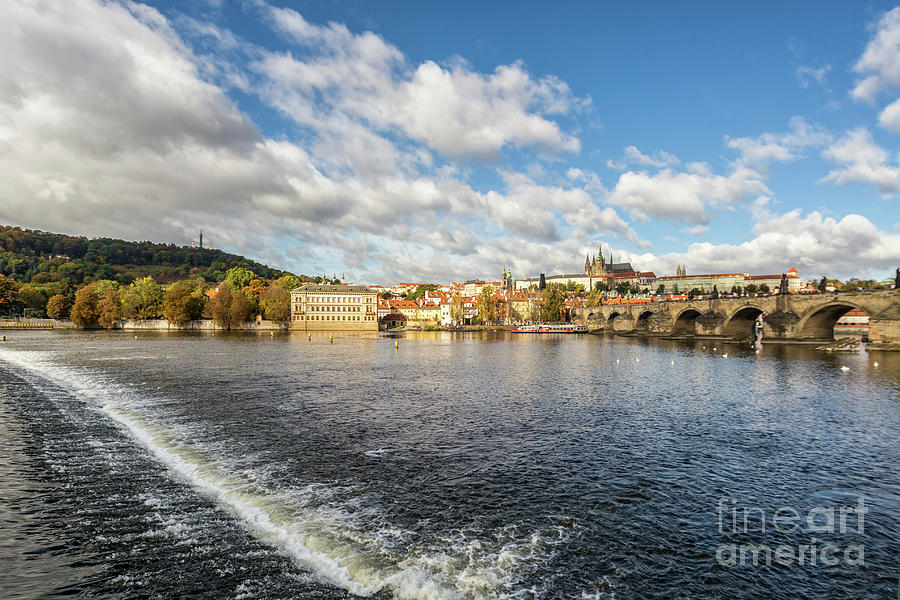 Beautiful Cityscape In Prague Photograph