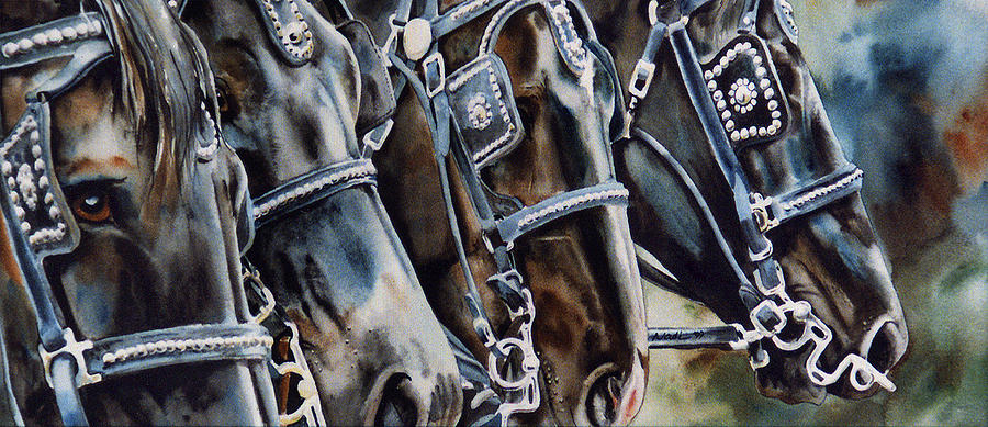 Shire Painting - 4 Shires by Nadi Spencer