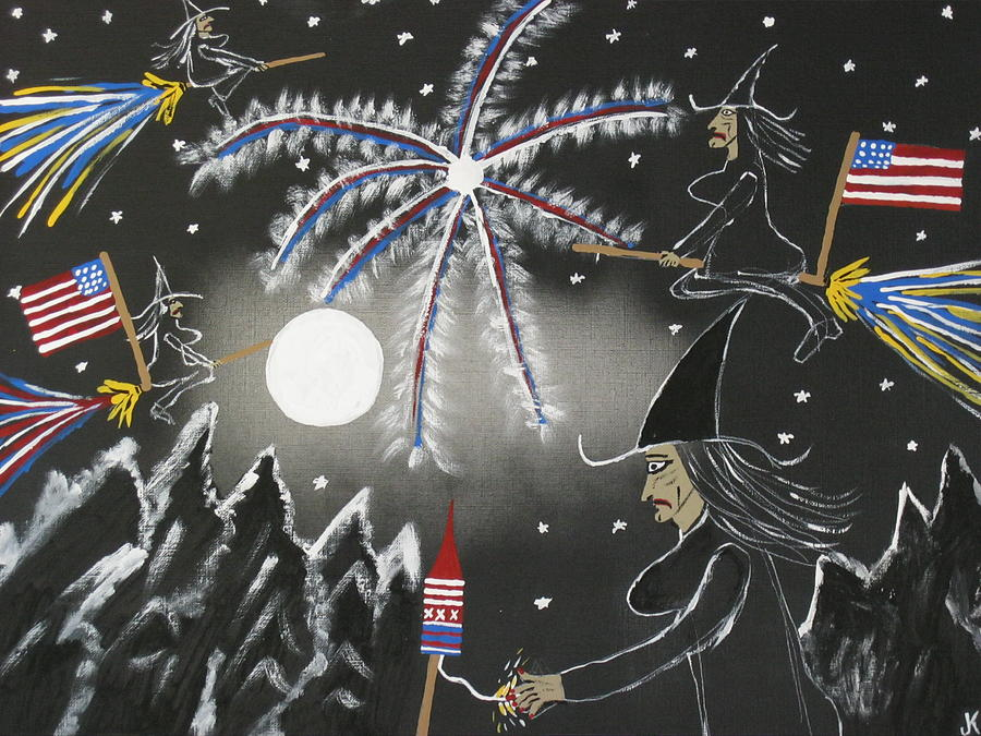 Painting - 4th Of July by Jeffrey Koss