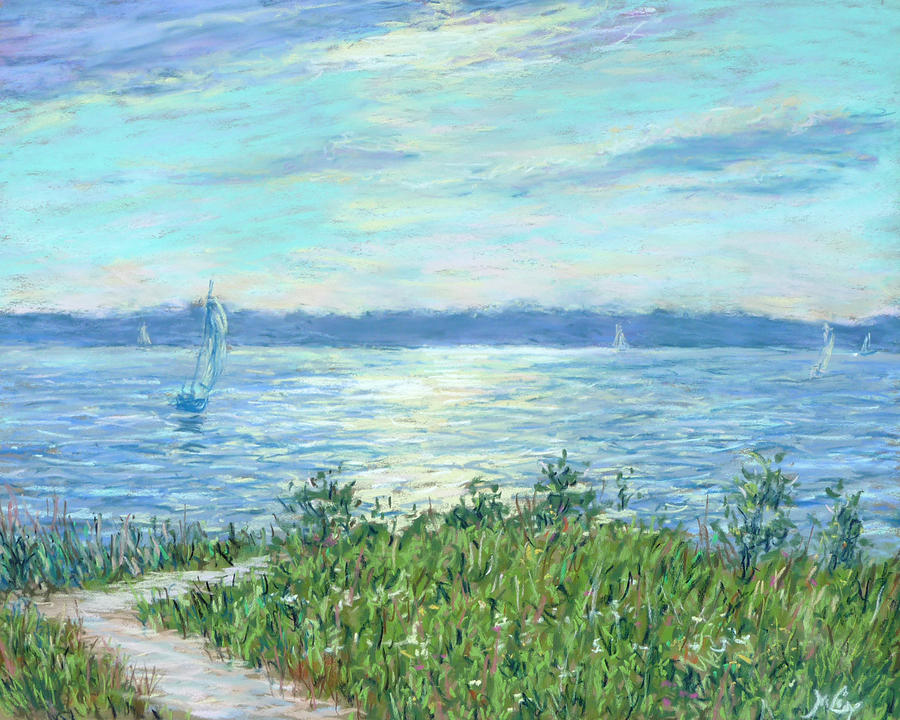Impressionist Painting - 4th Of July by Michael Camp