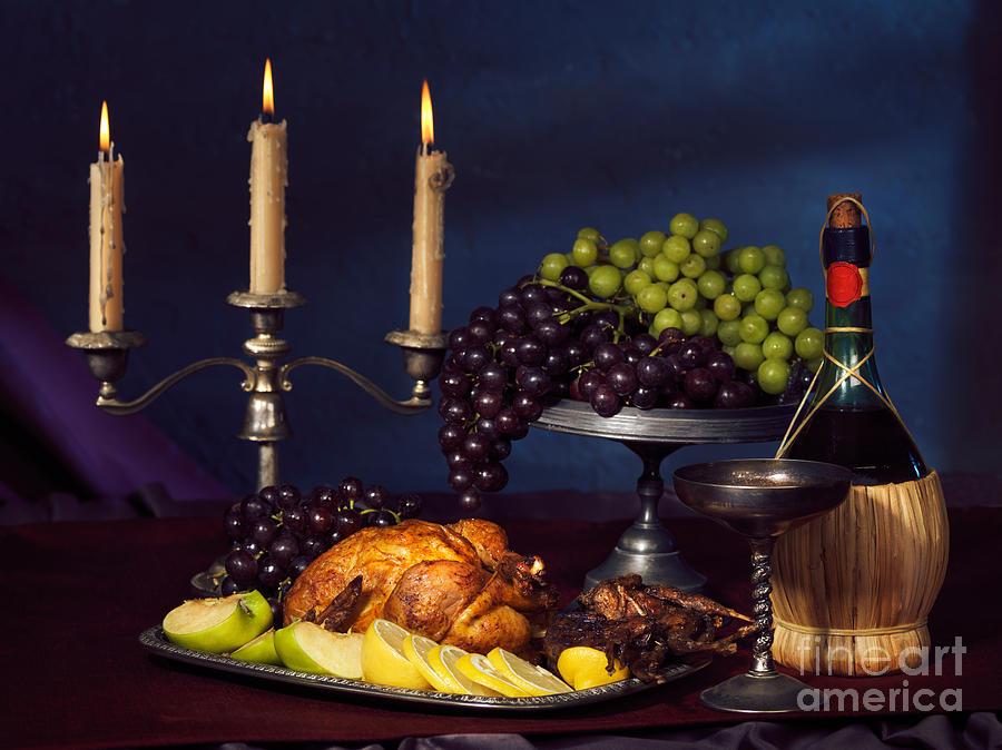 Feast Photograph - Artistic Food Still Life by Oleksiy Maksymenko