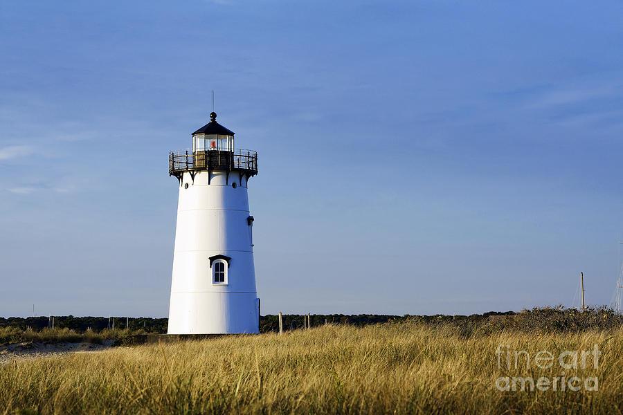 Martha's Vineyard Photograph - Edgartown Lighthouse by John Greim
