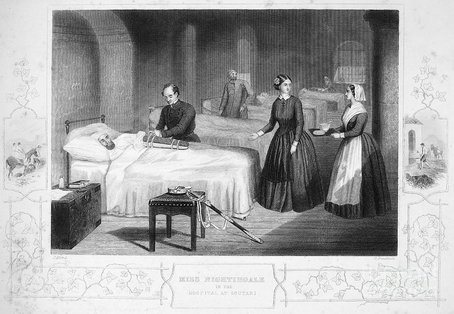 19th Century Photograph - Florence Nightingale by Granger