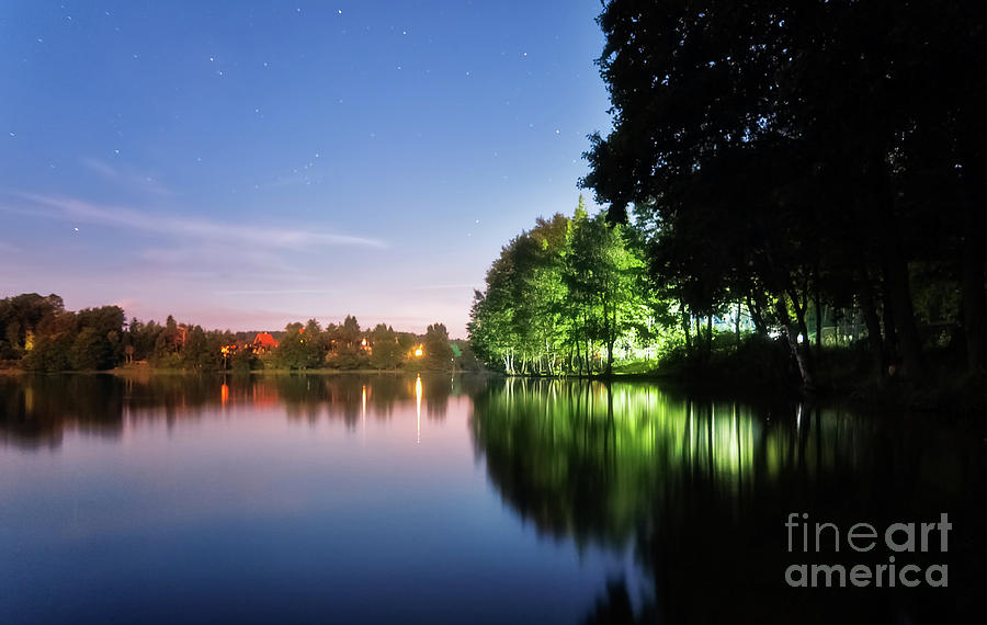 Kamien Lake Photograph