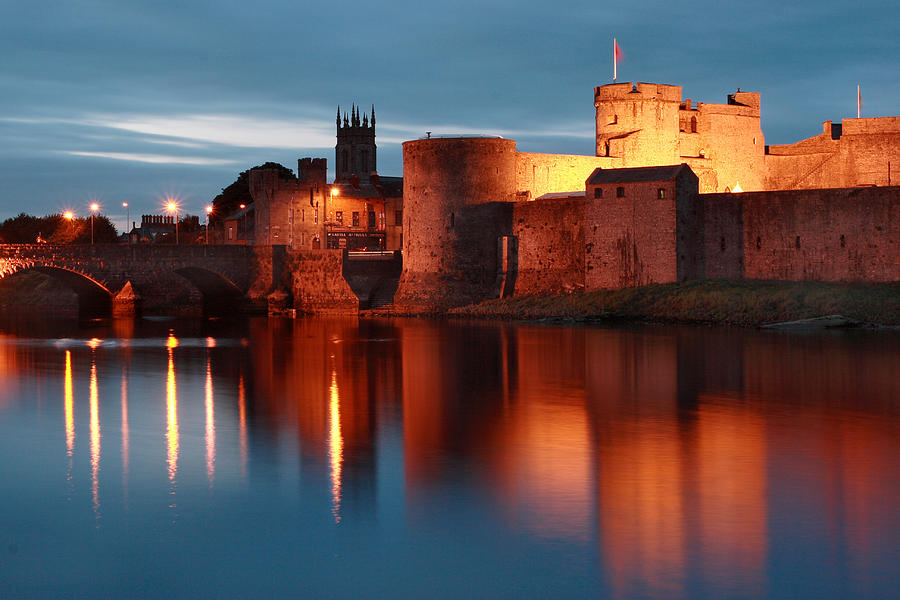 Limerick Photograph - King Johns Castle Limerick Ireland by Pierre Leclerc Photography