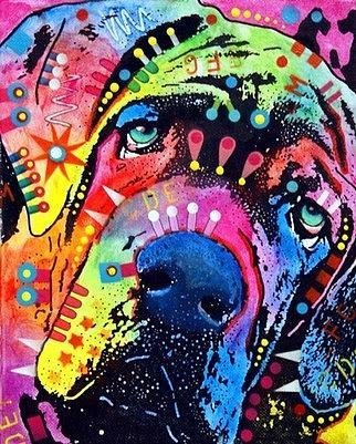Neo Mastiff Painting