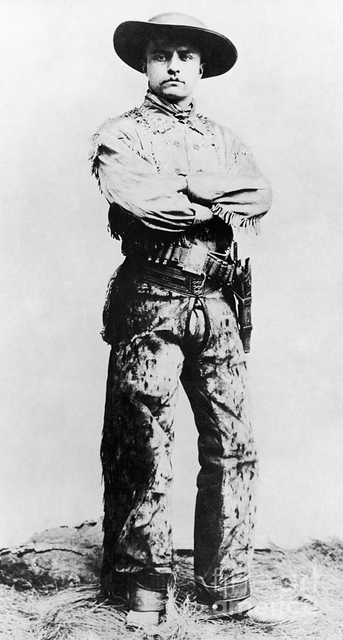 1880s Photograph - Theodore Roosevelt by Granger