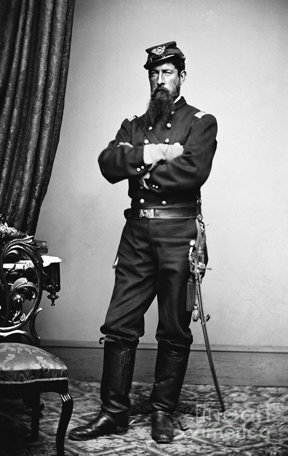 Civil War Union Soldier Photograph By Granger