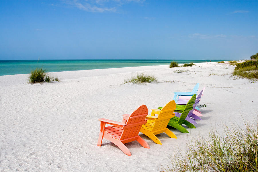 Florida Sanibel Island Summer Vacation Beach Photograph By