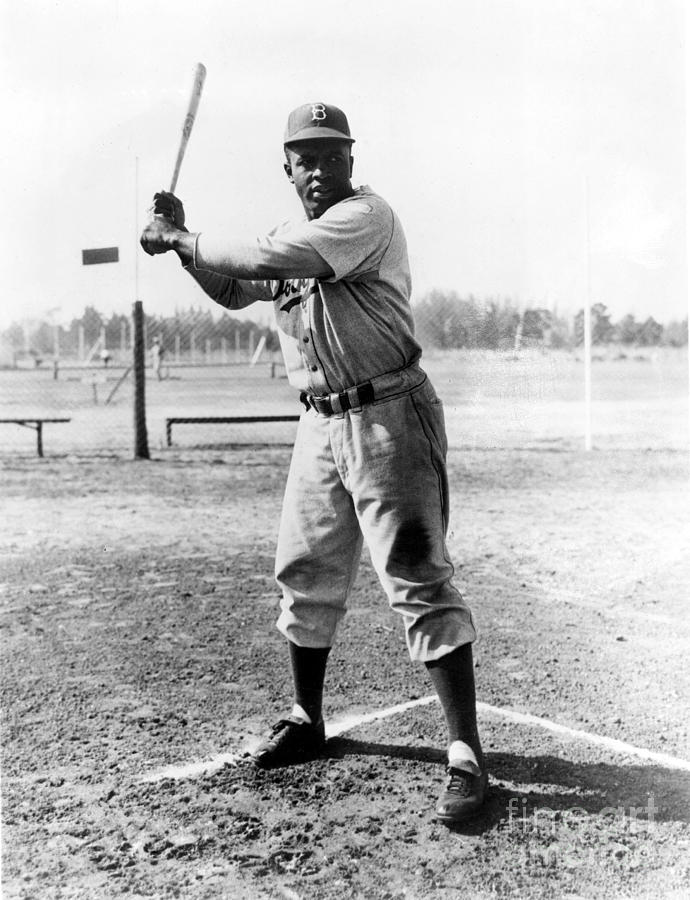 1950s Photograph - Jackie Robinson (1919-1972) by Granger