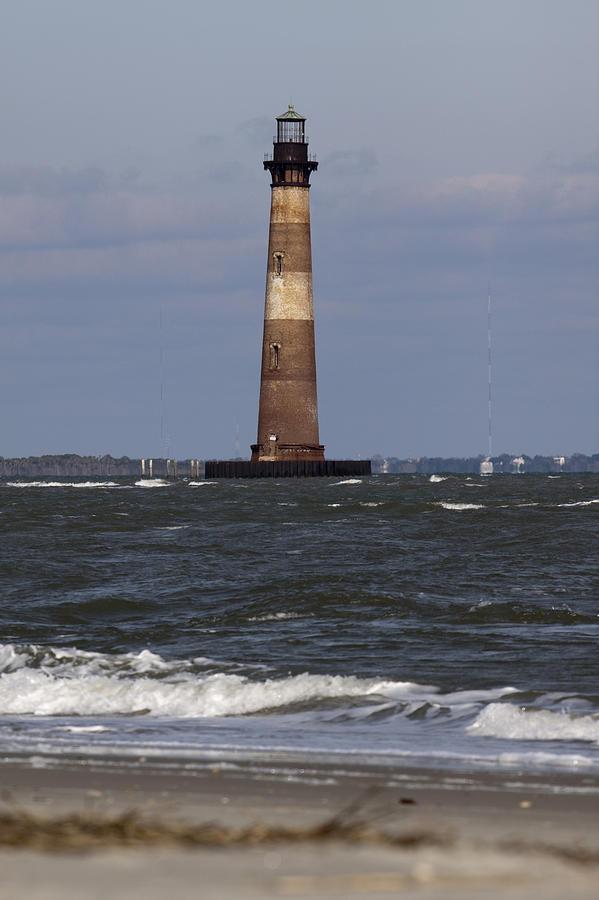 Morris Island Photograph - Morris Island Lighthouse by Dustin K Ryan