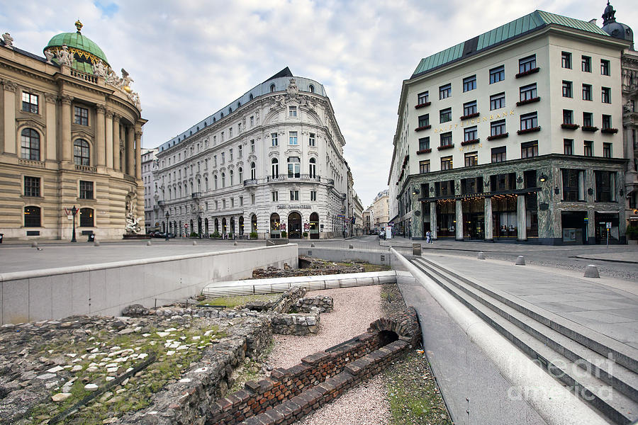 Architecture Photograph - Vienna by Andre Goncalves