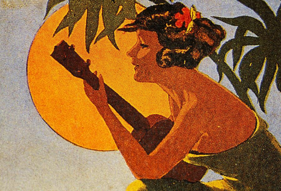 1925 Painting - Vintage Hawaiian Art by Hawaiian Legacy Archive - Printscapes