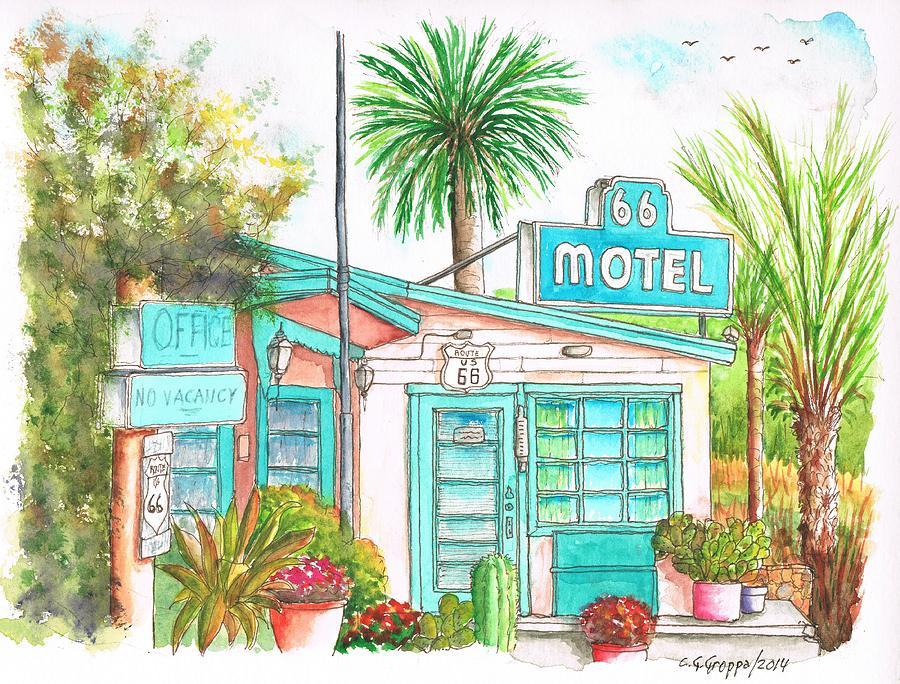 66 Motel In Needles, California Painting