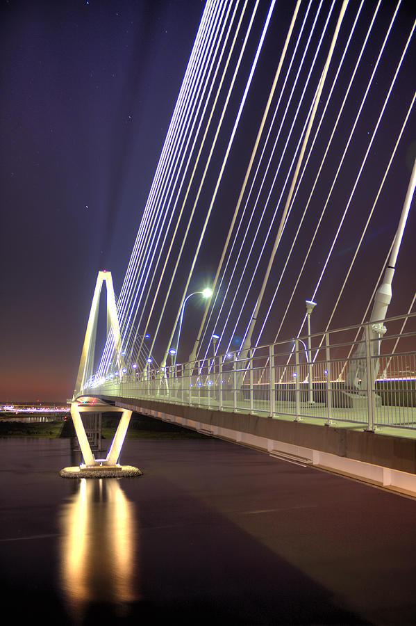 Arthur Photograph - Arthur Ravenel Jr. Bridge  by Dustin K Ryan
