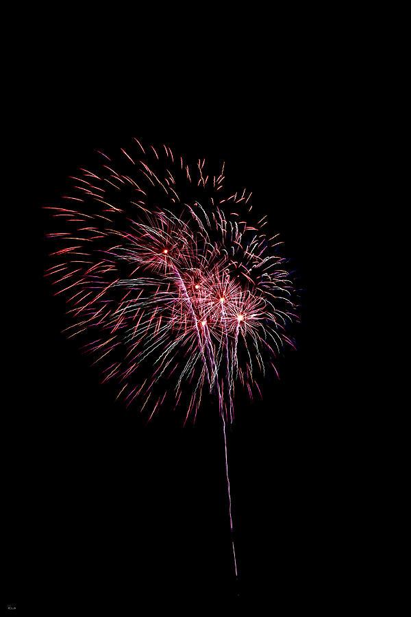 Fireworks Photograph - Fireworks by Jason Blalock