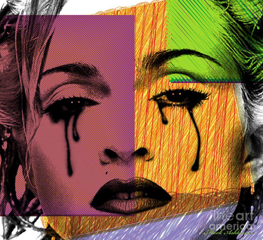 Madonna  Digital Art - Madonna  by Mark Ashkenazi