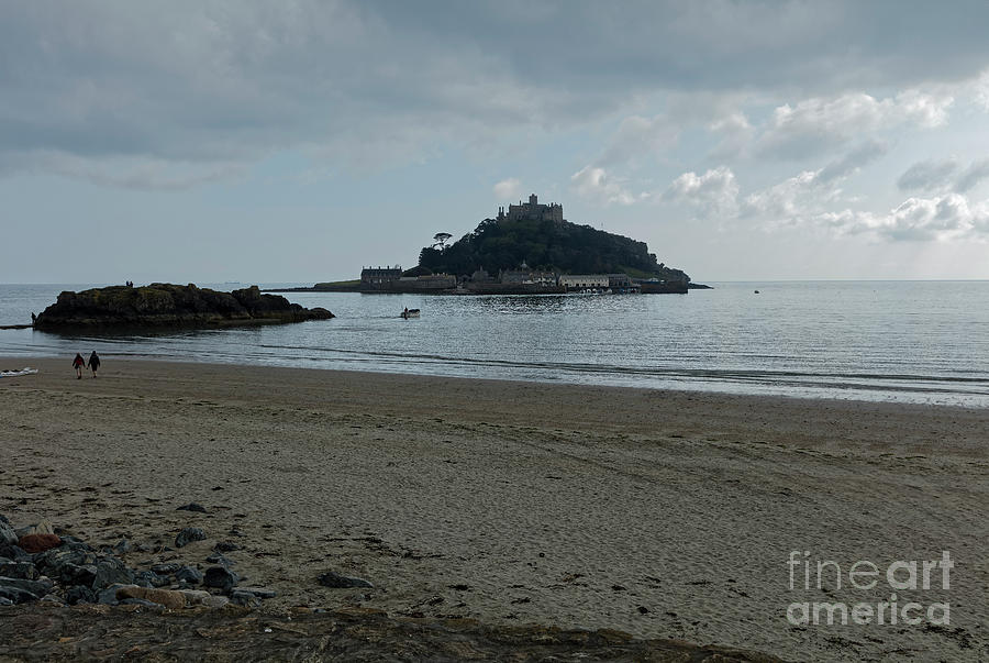 St Michael S Mount Cornwall Photograph By Philip Pound