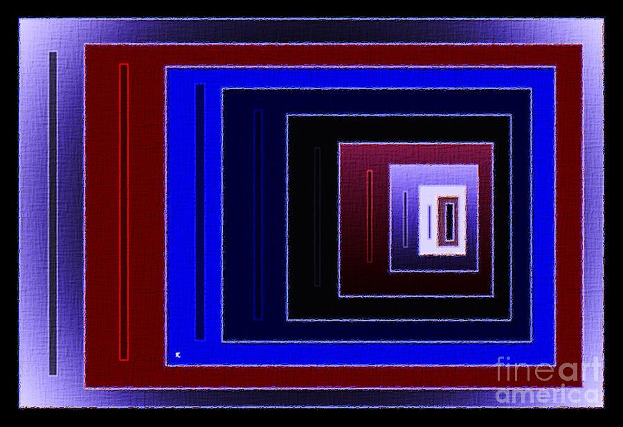 Abstract Digital Art - 88 by John Krakora