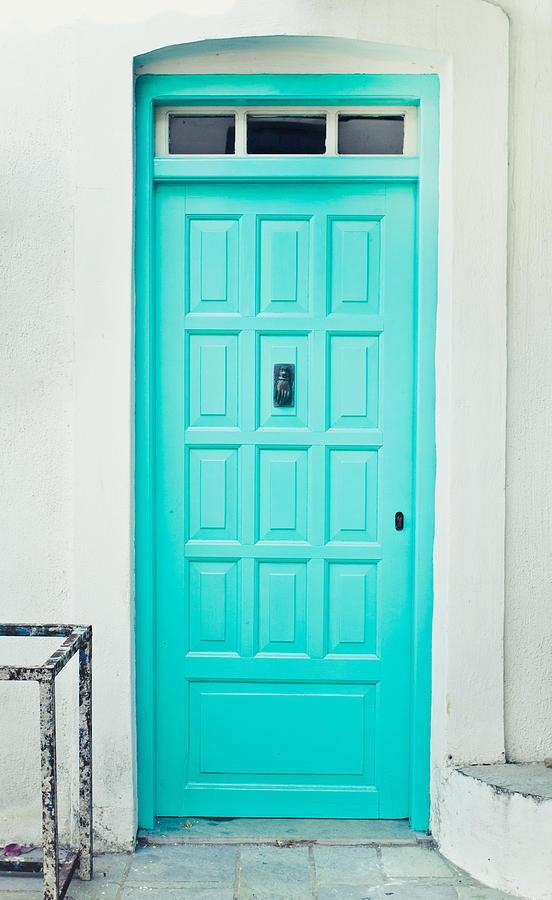 Address Photograph - Front Door by Tom Gowanlock