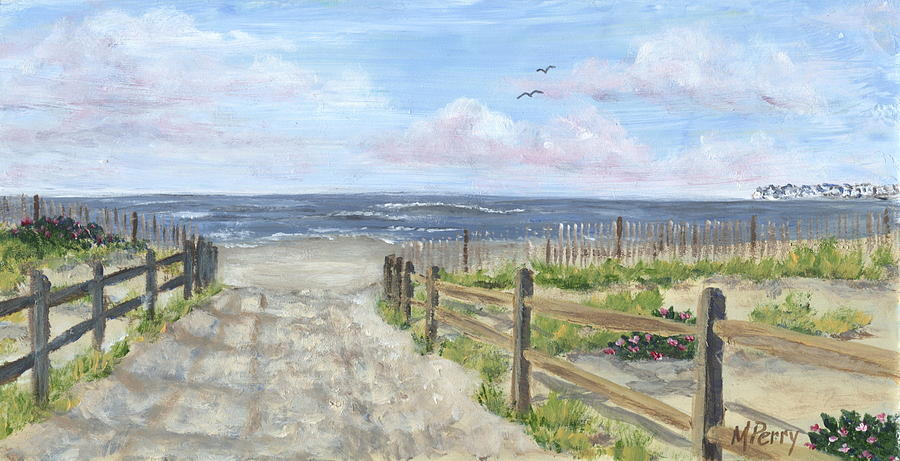 Sea Isle City Painting - 92nd Street by Margie Perry