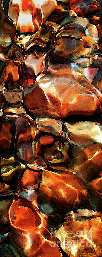 Abstract Photograph - A Closer Look by Terril Heilman