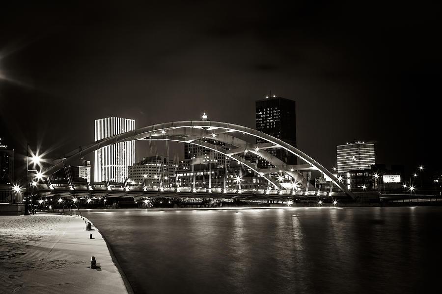 Bridge  Photograph - A Cold Night by Anton Shilman