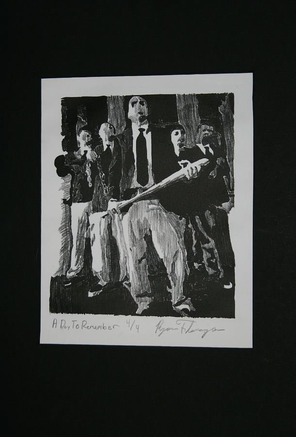 Lithography Relief - A Day To Remember by Ryan Flanagan