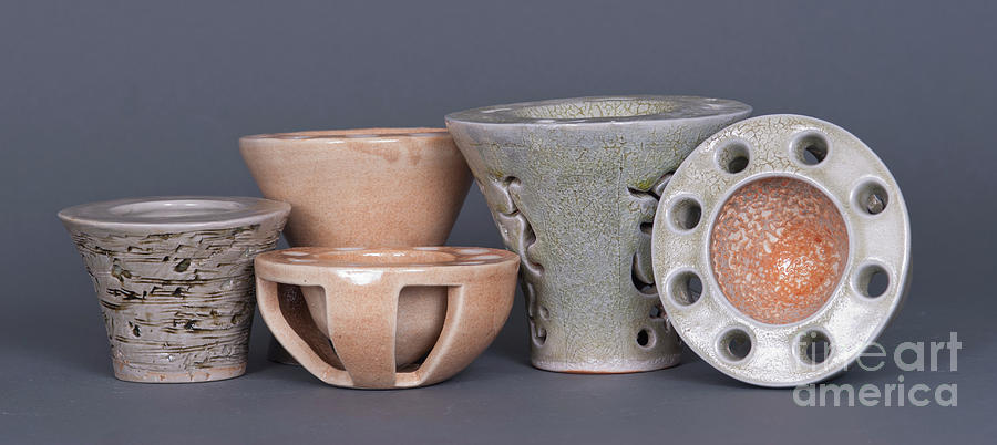 Vase Ceramic Art - A Family Affair by Tracy Pickett