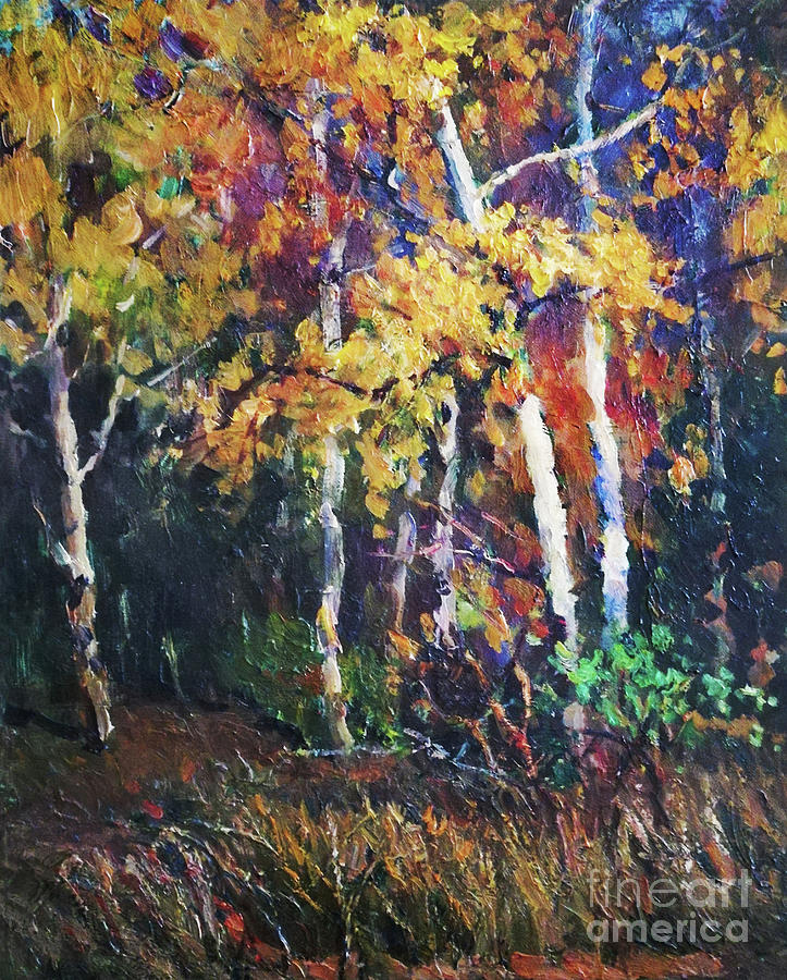 A Glance Of The Woods Painting